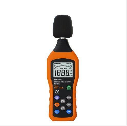 Messgerät Schallpegelmesser Digital mit Lärm Messgerät Range 30–130dBA Funktion von Verlagerung Schalter 8030117