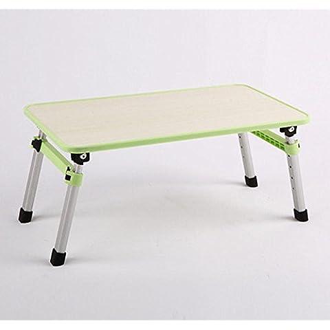 uzi-lazy persone benessere Fashion solido pieghevole portatile, Tavolo letto può essere sollevato e abbassato multiuso, resistenza alle alte temperature c