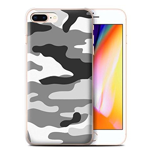Coque de Stuff4 / Coque pour Apple iPhone 7 Plus / Blanc 2 Design / Armée/Camouflage Collection Blanc 2