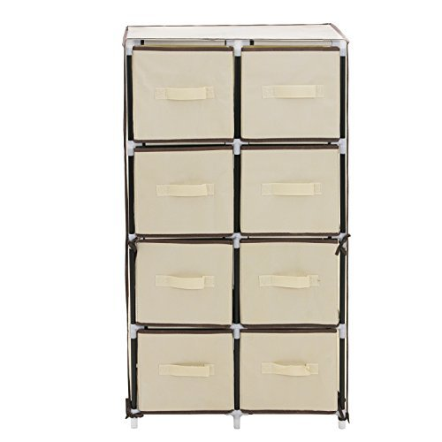 songmics-8-drawer-beige-diy-storage-wardrobe-cabinet-multiple-purpose-storage-unit-105-cm-rlg24m