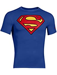 Under Armour Alter Ego Comp Ss - Camiseta para hombre, color Azul (Royal- Superman), talla M ( talla del fabricante: MD )