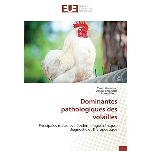 Dominantes pathologiques des volailles: Principales maladies : epidemiologie, clinique, diagnostic et therapeutique