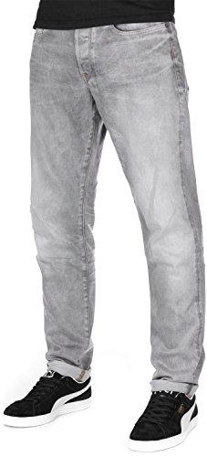 G-STAR Herren Jeans 3301 Tapered lt aged