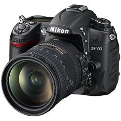 Nikon D7000 Appareil photo numérique Reflex 16.2 Kit Objectif AF-S DX VR II 18-200 mm Noir