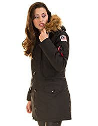 Alpha Industries Polar Damen Jacke Schwarz S