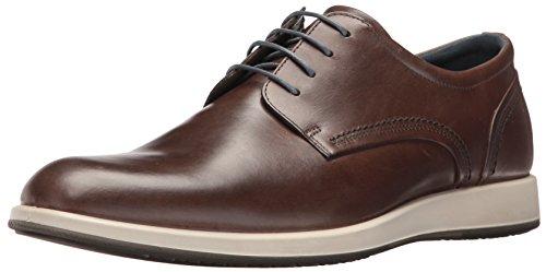 Ecco Jared, Zapatos Con Cordones Para Hombres Marrones (arcilla 2559dark)
