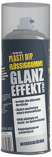 Plasti Dip Spray (Plasti Dip 61090030 Flüssiggummi Glanz Effekt Spray, 400 ml)