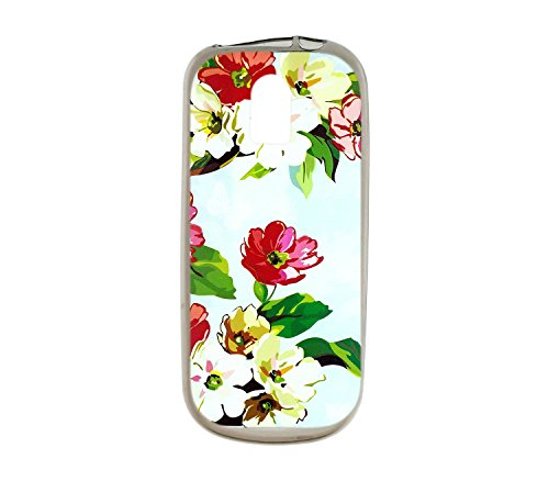 Oujietong Custodia per Nokia 130 nokia130 Custodia TPU Soft Case Cover HD