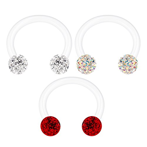 Jewelry Sets & More Jewelry & Accessories Jforyou 3prs Non Pierced Stainless Steel Clip On Closure Round Ring Fake Nose Lip Helix Cartilage Tragus Ear Hoop 20g Good Heat Preservation