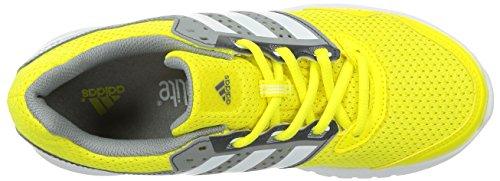 adidas Duramo 7, Chaussures de running entrainement femme Amarillo / Blanco / Gris