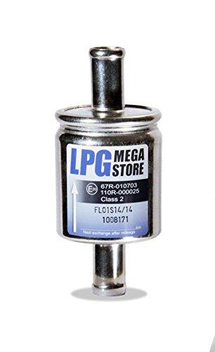 Preisvergleich Produktbild Gasfilter 14mm Autogas,  LPG,  GPL Filter Universell