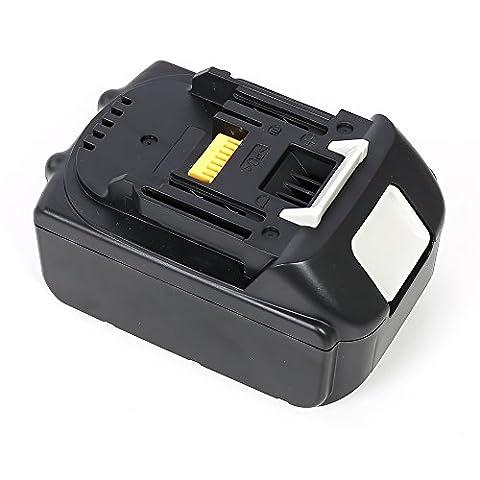 Flylinktech 18V 4.0Ah Li-ion Battery for Makita BL1840 BL1850 BL1830 LXT-400 Power Tools