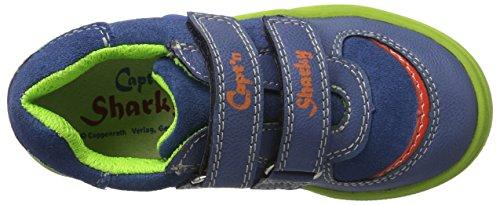 Capt'n Sharky Jungen 430706 Hallenschuhe Blau (Blau)