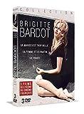 Brigitte Bardot 3 Films DE L'ICÔNE du Cinema Français (La Mariée est trop Belle-La Femme est Le pantin-Vie privée) 3DVD