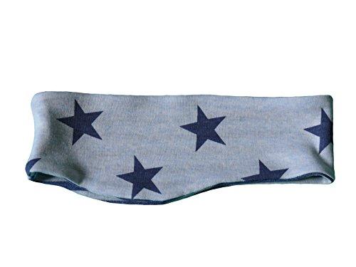 Fitzibiz Stirnband Baumwoll-Jersey, Sterne, Streifen, Motive, Uni (Gr. 104/Jens)