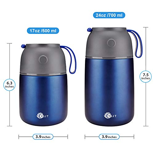Zoom IMG-1 ygjt thermos per alimenti 2