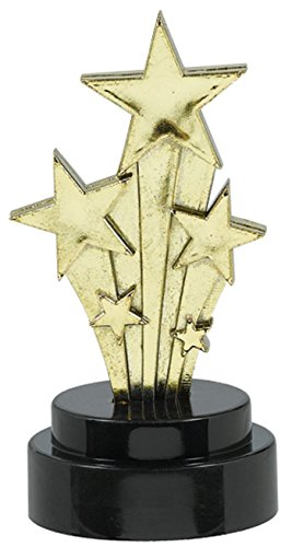 amscan International Lot de 6 trophées Hollywood