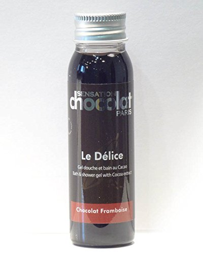 Sensation Chocolat - Gel Douche Délice Chocolat / Framboise - Travel 30 Ml