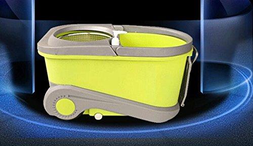 T & S buon Dio in acciaio INOX double-driven Rotary Press mop secchio mop mop set regalo