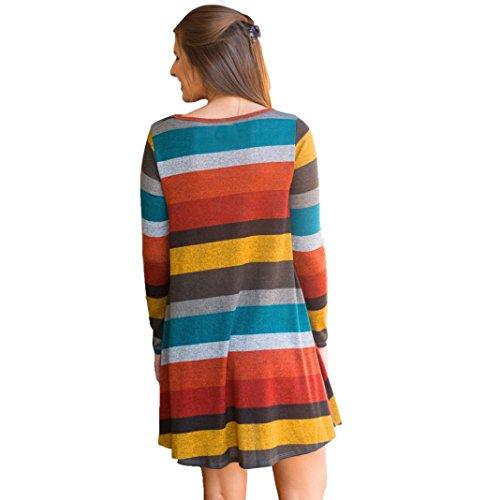 Vestito donna Rcool sexy Vintage da maglioni a maglia Lungo Mini Saltatore Casuale Multicolor