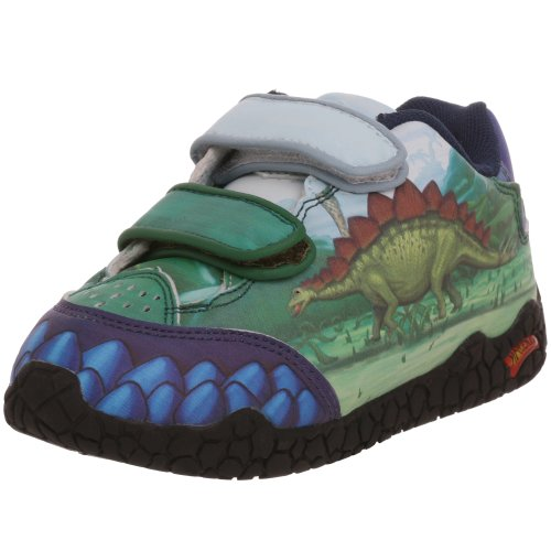Dinosoles Zapatillas Stegosaurus, color azul, talla 4_Child_UK