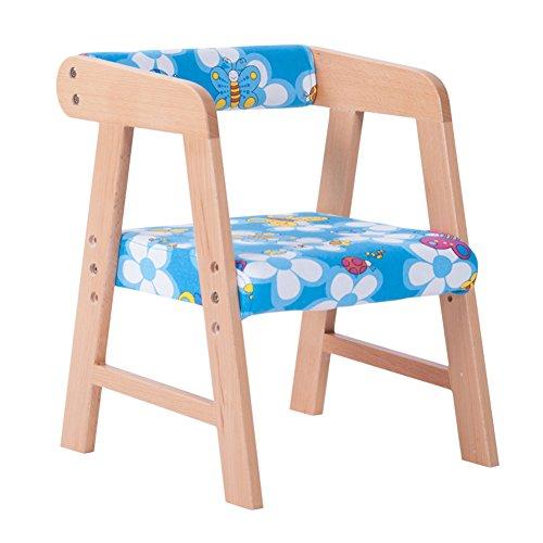 YIXINY Chaise S9006 Minimaliste Moderne Dessin En Couleur Linge En Coton Peut Être Assemblé Litre Drop Les Étudiants Enfants Chaise En Bois ( Couleur : 002 )