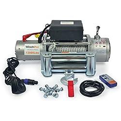 Cabrestante Electrico 12v 5900Kg 13000Lbs Winch Cabestrante Para Grúa, 4x4, Todoterreno Y Camión