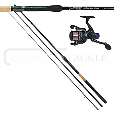 12ft OAKWOOD Float Fishing Match Waggler Rod & OAKWOOD R30 Reel & line Combo by oakwood
