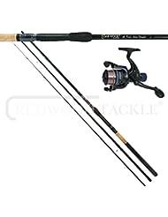 12ft OAKWOOD Float Fishing Match Waggler Rod & OAKWOOD R30 Reel & line Combo