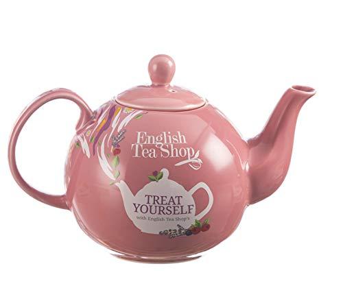Englisch Tea Shop Gönnen Sie Sich mit Englisch Tea Shop Pink Keramik Teekanne/Keramik Rose Teekanne Spezielle Produktion mit Logo Englisch Tea Shop - 1 Einheit -