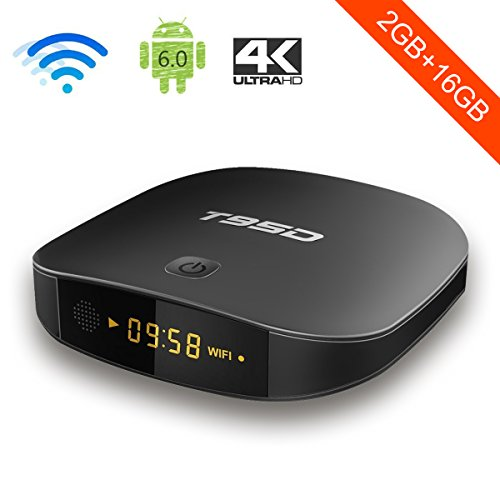 T95D Android 7.1 TV Box with 2GB RAM 16GB ROM RK3229 Quad Core Media Player  supports d16b67f62