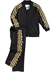 ADIDAS ORIGINALS JOGGER BÉBÉ JEREMY SCOTT SURVÊTEMENT SPORT COSTUME MUSIC NOTE