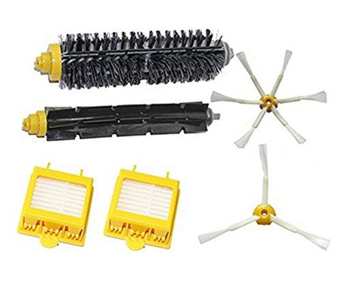 Tammy Style Cepillos Laterales y Filtro HEPA Reemplazo iRobot Kit Para iRobot Roomba serie 700 760 770 780 790