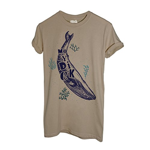 T-Shirt MOBY DICK - FILM by Mush Dress Your Style Sand