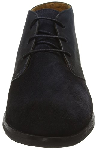 Selected Herren Shdbolton Nubuck Chukka Boot Bootsschuhe Blau (Dark Navy)