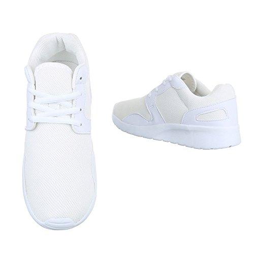 Ital-Design, Sneaker donna Bianco