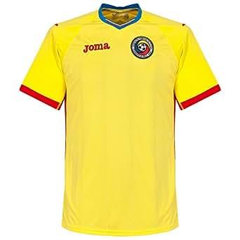 Romania EURO 2016 Home S/S Football Shirt