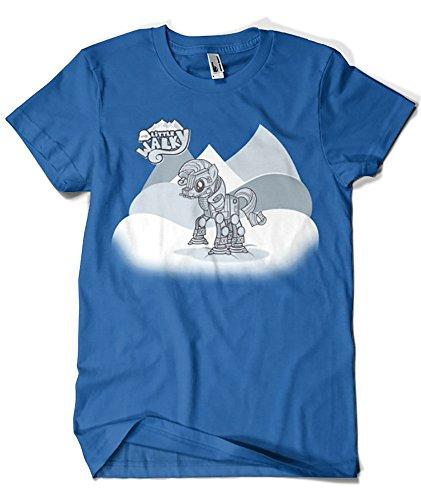 Camisetas La Colmena Herren T-Shirt Blau Azul Royal XX-Large