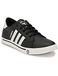 Lavista Men's Black Synthetic Leather SuperSter Casual Shoe.