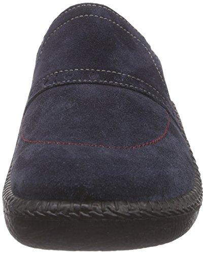 ROMIKA Mokasso 295, Pantoufles non doublées homme Bleu (Jeans)