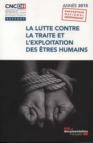 La lutte contre la traite et l'exploitation des être humains - Année 2015