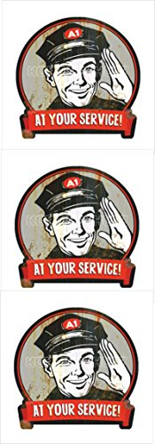 524-3x-at-your-service-pegatina-sticker