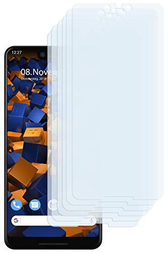 mumbi Schutzfolie kompatibel mit Google Pixel 3 XL Folie klar, Bildschirmschutzfolie (6x)