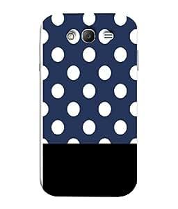 PrintVisa Designer Back Case Cover for Samsung Galaxy Grand Neo Plus I9060I :: Samsung Galaxy Grand Neo+ (Polka Black Design Serene)