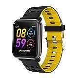 TDOR ¡Oferta Cyber Monday! Smartwatch Whatsapp Reloj Deportivo Android Podómetro, Color Amarillo