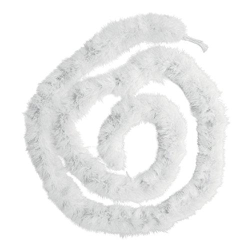 Boland 52581 - Marabu-Boa, ca. 180 cm, weiß