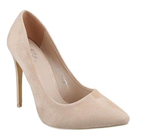 King Of Shoes , Escarpins pour femme - Beige