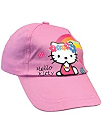 Hello Kitty - Fille baseball rose casquette reglable avec chat