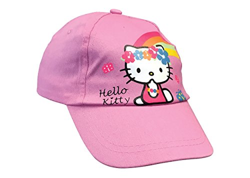 hello-kitty-fille-baseball-rose-casquette-reglable-avec-chat-54cm-6-8-years-pink