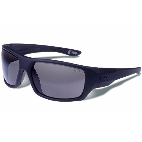 Gargoyles Wrath Performance Sonnenbrille, matt black frame/smoke lens
